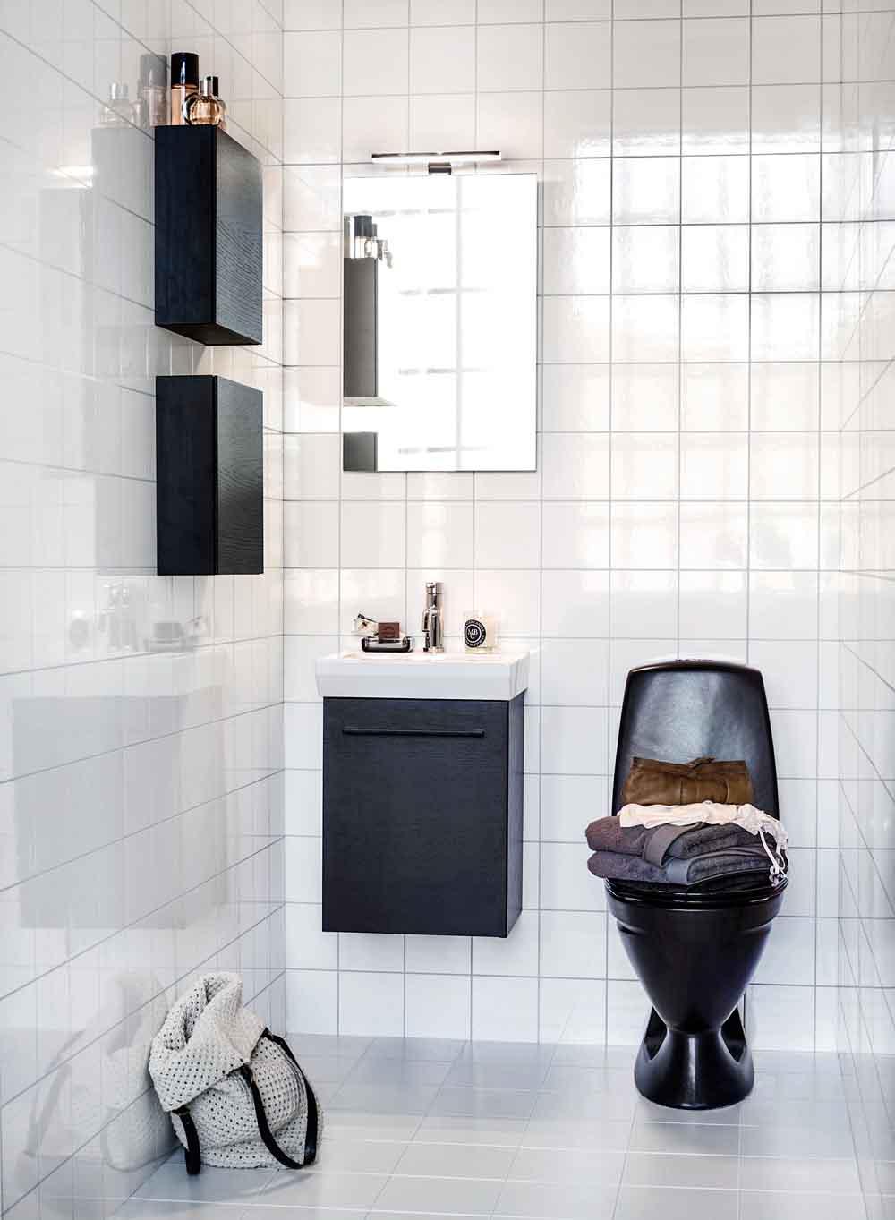 Badrum Med Smarta Losningar For Det Lilla Badrummets Funktion Badextra